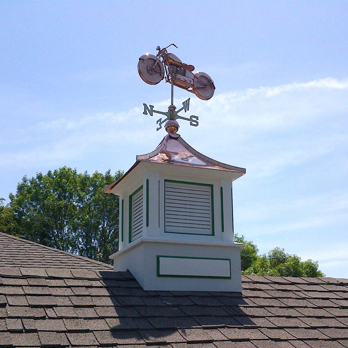 reader cupola on garage