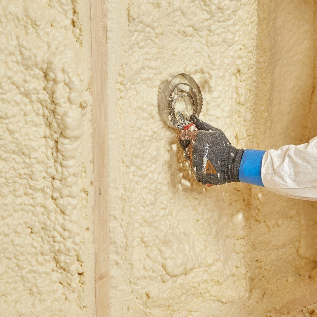 Scraping Overspray With a Curry Comb | Construction Pro Tips