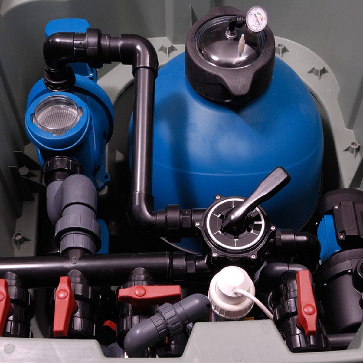 air compressor pool lines