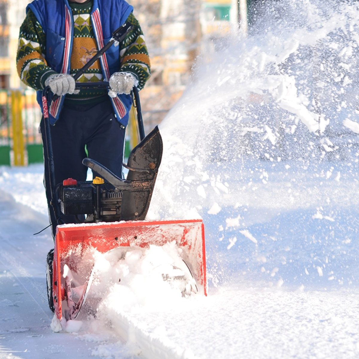 Snowblower the things you do