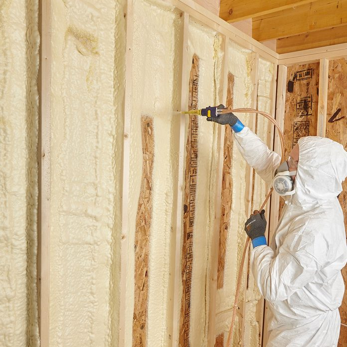 Spraying two inch lifts   Construction Pro Tips