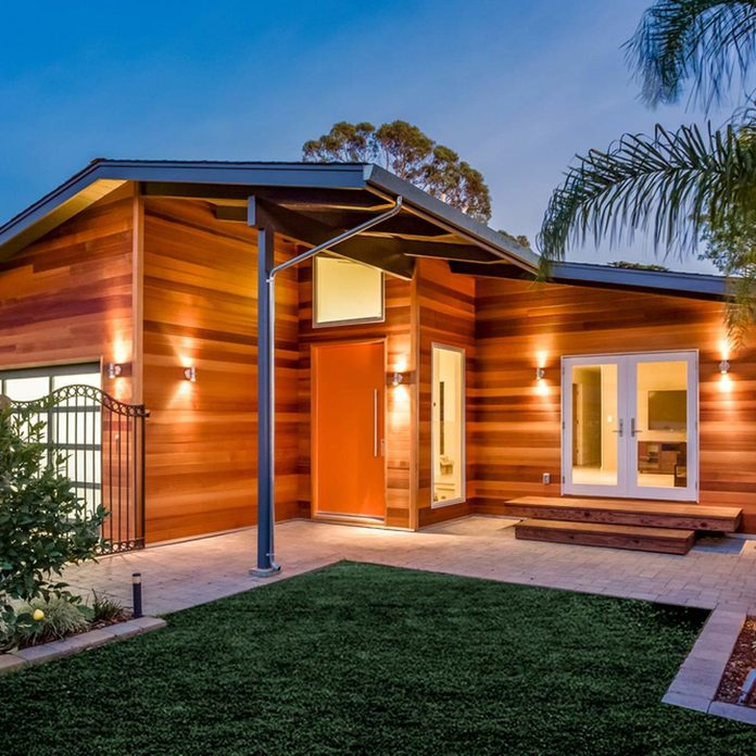 home house wooden exterior
