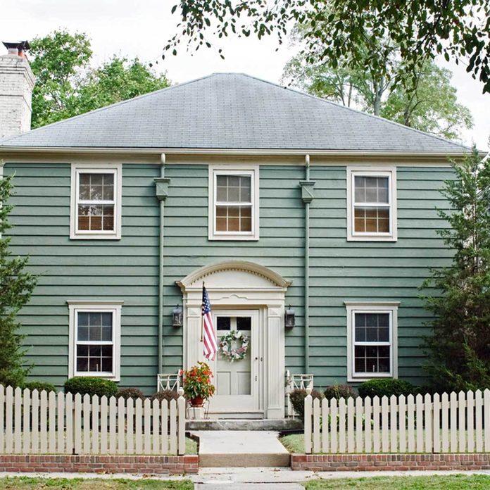 aqua blue teal colonial exterior home house exterior home colors, house exterior colors