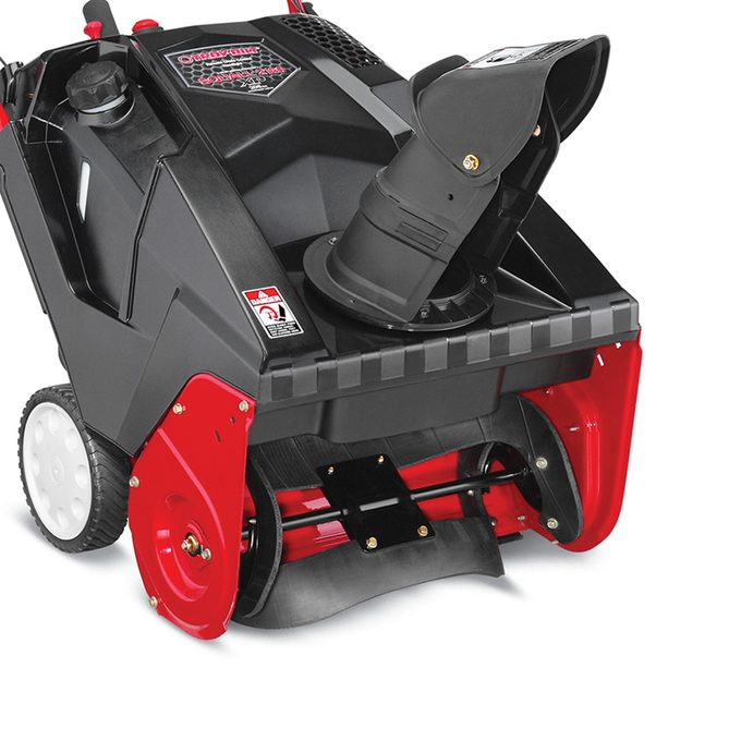 Driveway construction and slope are critical factors for a snow blower