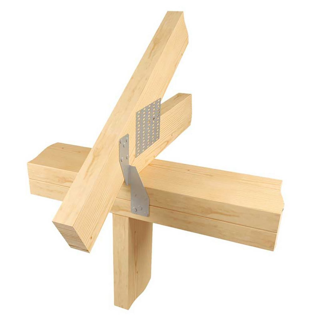 Top plate anchor tying the trusses together | Construction Pro Tips