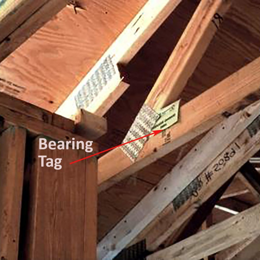 Keeping trusses aligned with bearing tags | Construction Pro Tips