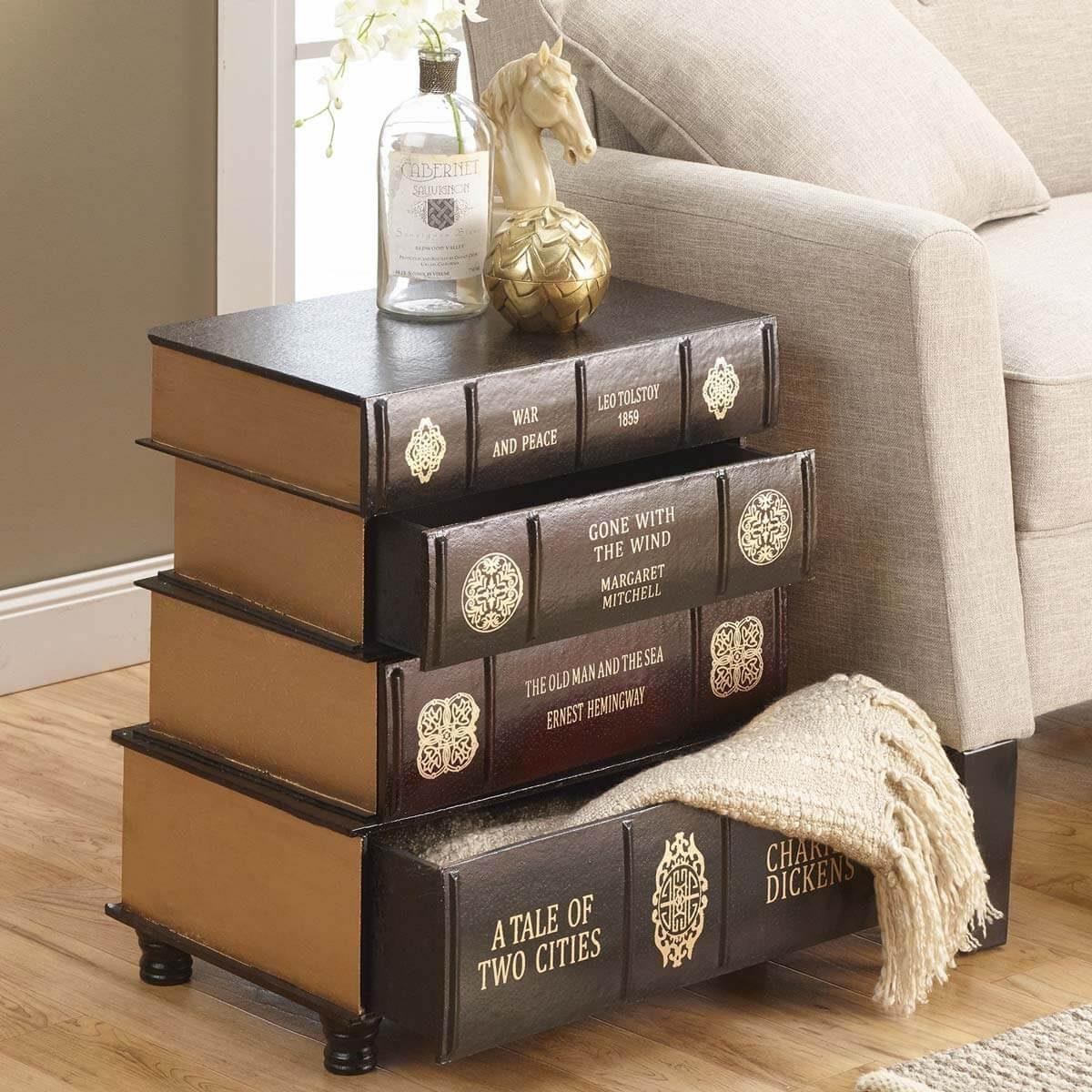 Book Nightstand
