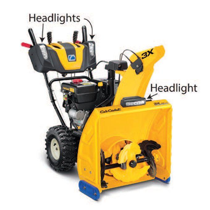 Headlights really help