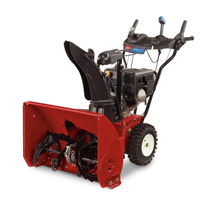 What is a two-stage snow blower?