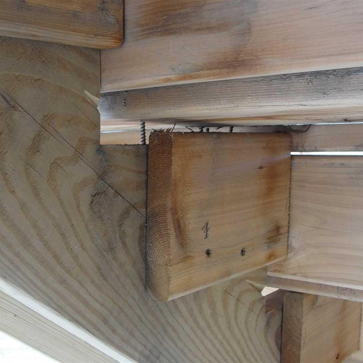Deck Stair Layout Headache