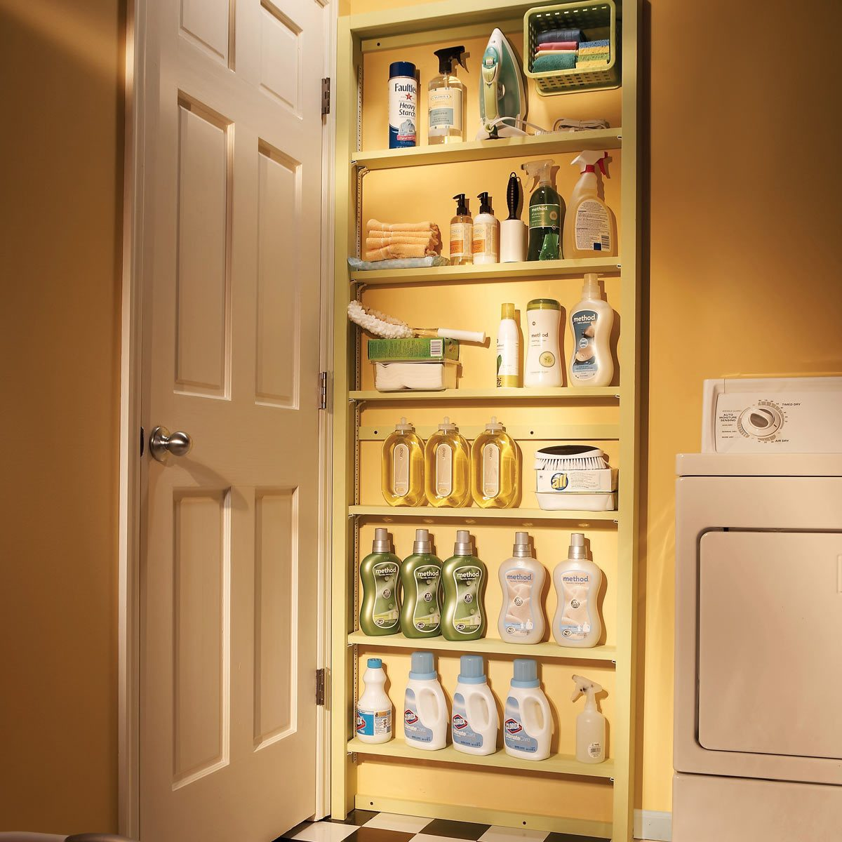 Surprise! Behind-the-Door Storage