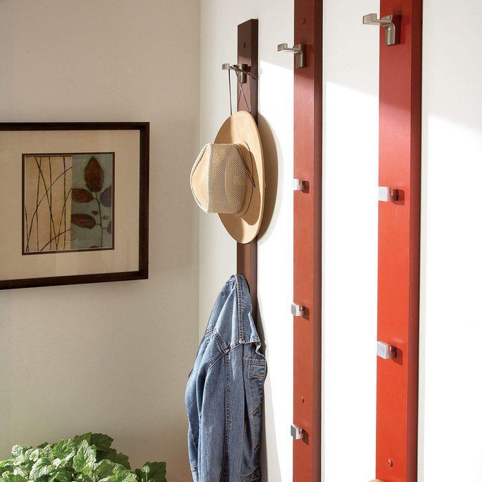 Create a Coat or Hat Rack