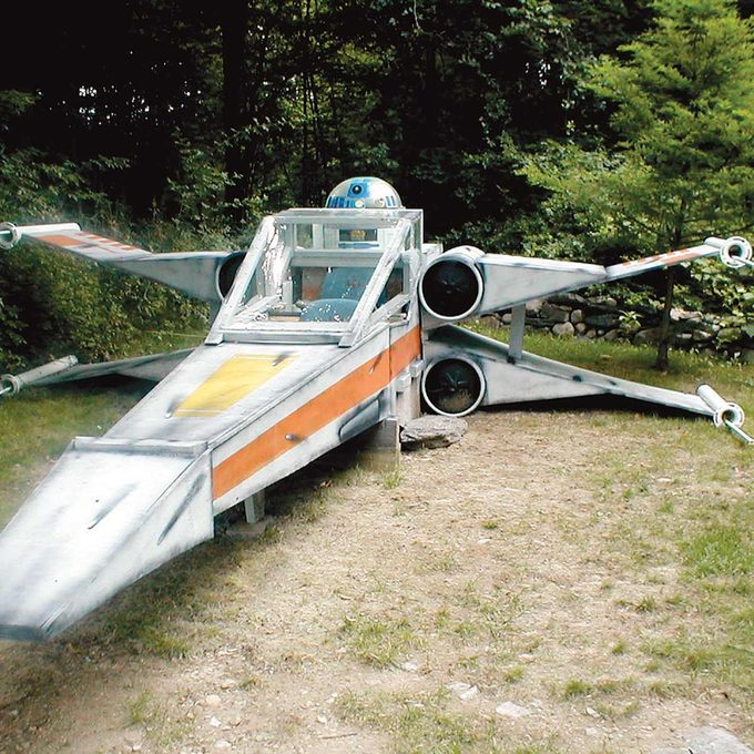 X-Wing Star Fighter Jet