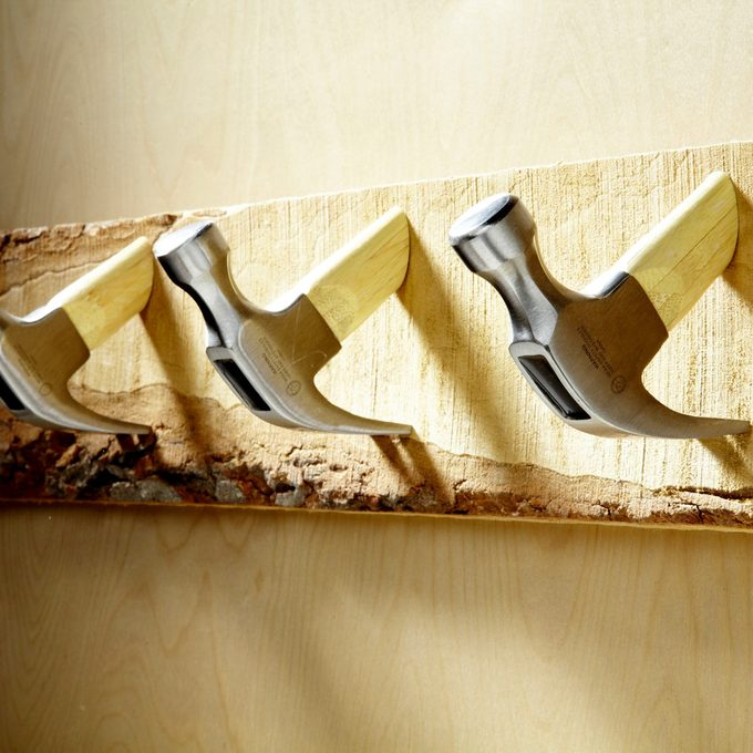 hammer head coat rack