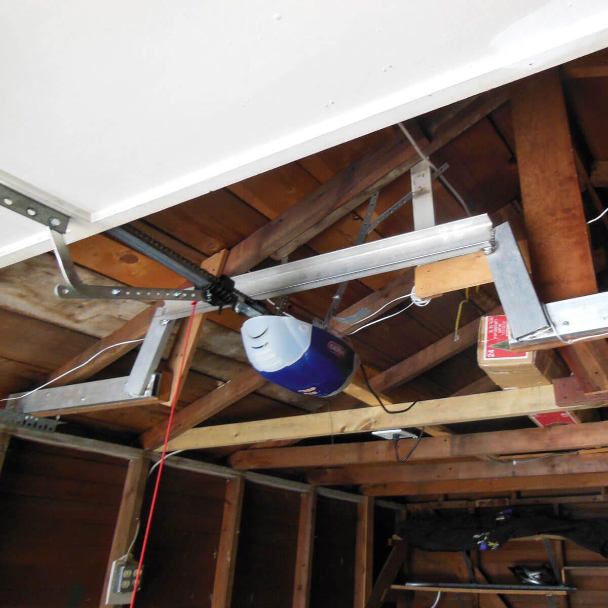 Garage-door-opener-repaired-framing-1