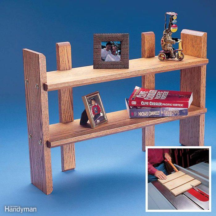 Craft a Petite Shelf