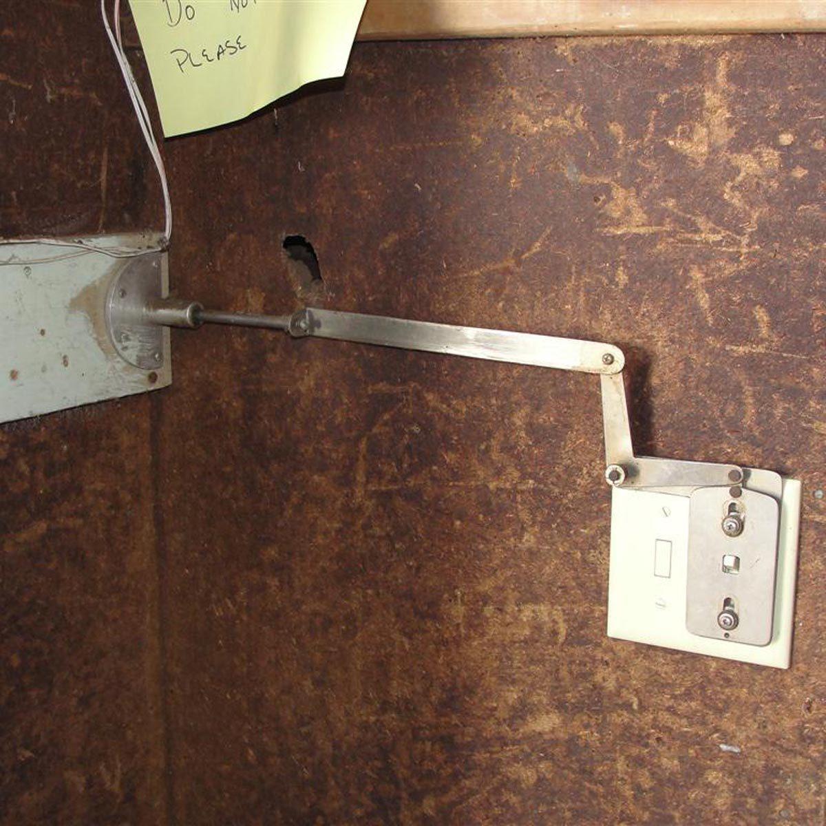 Dr. Frankenstein's wall switch