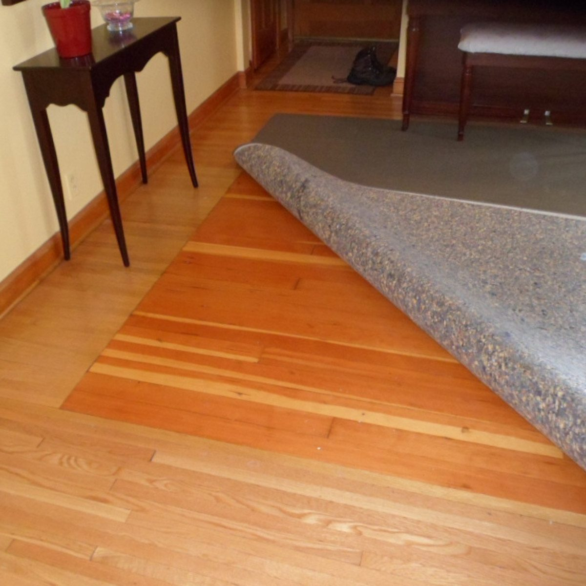 One way to save money on flooring