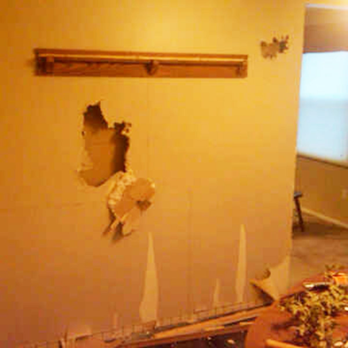 Kitchen Remodel Hole In The Wall