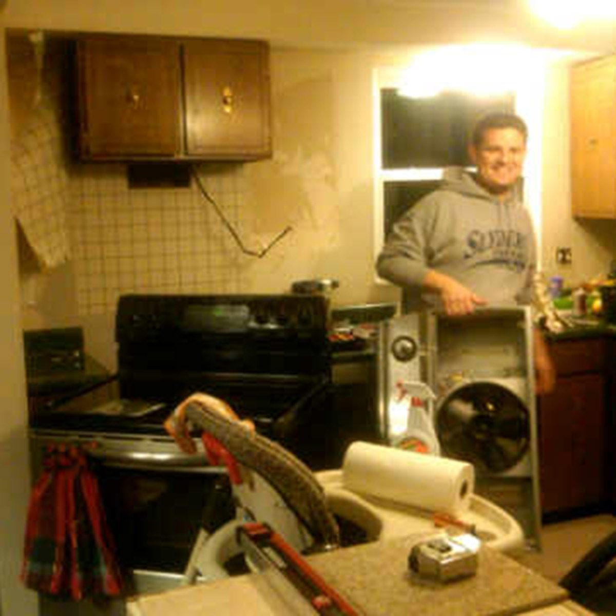 Kitchen Remodel Tear Down