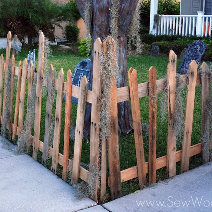 Pallet Wood Fence