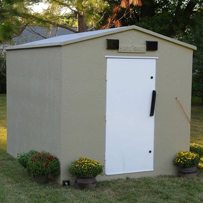 Have a Safe Room Shed Delivered