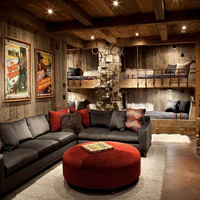 Ultimate Comfort Man Cave Shed