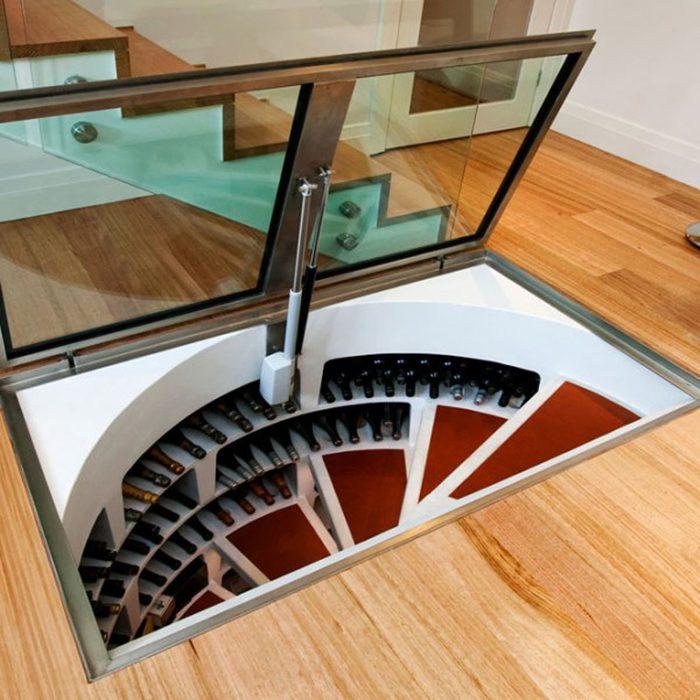 Secret Rooms in Houses: Hidden Room Wine Cellar