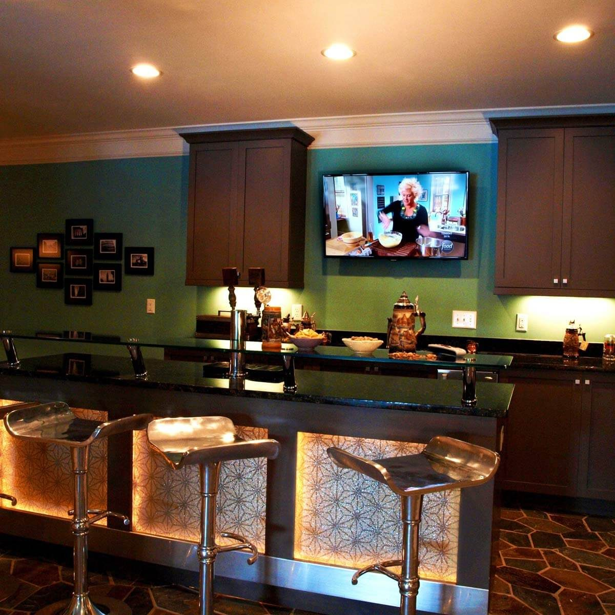 Sophisticated Man Cave