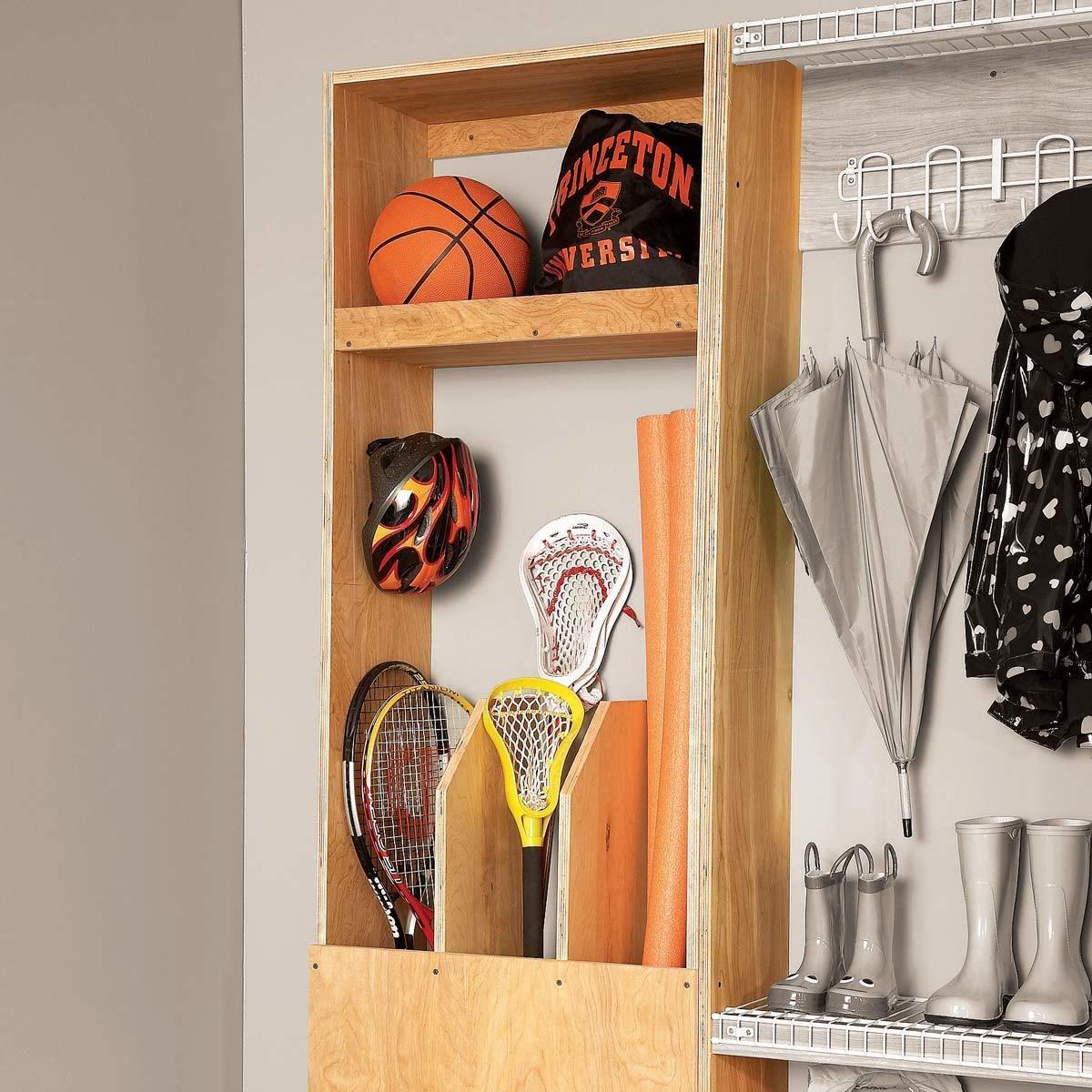 Custom Sports Gear Cabinet