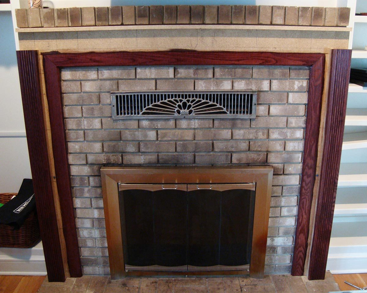 reader fireplace progress