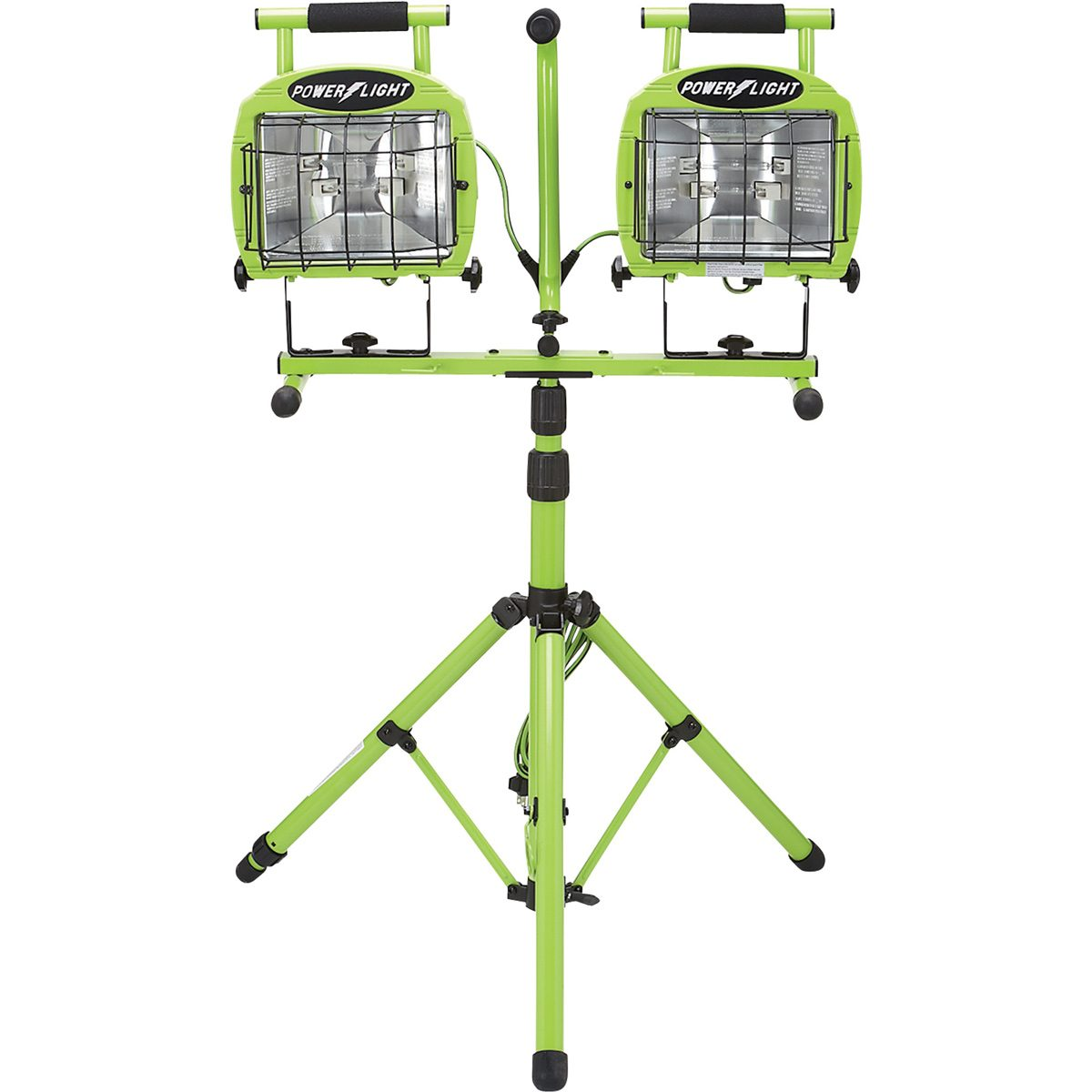 Dual-Head Tripod Work Light