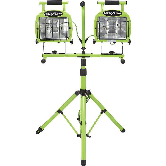 Dual-Head Tripod Work Light