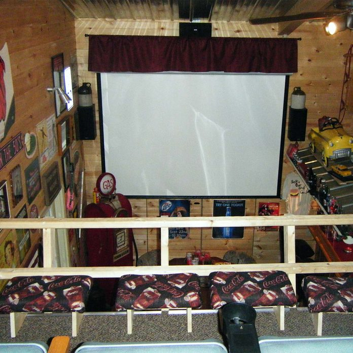 collectors mancave theater