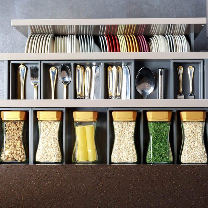 minimal spice rack 674162554_03 minimalist kitchen organizer storage silver ware plates spices