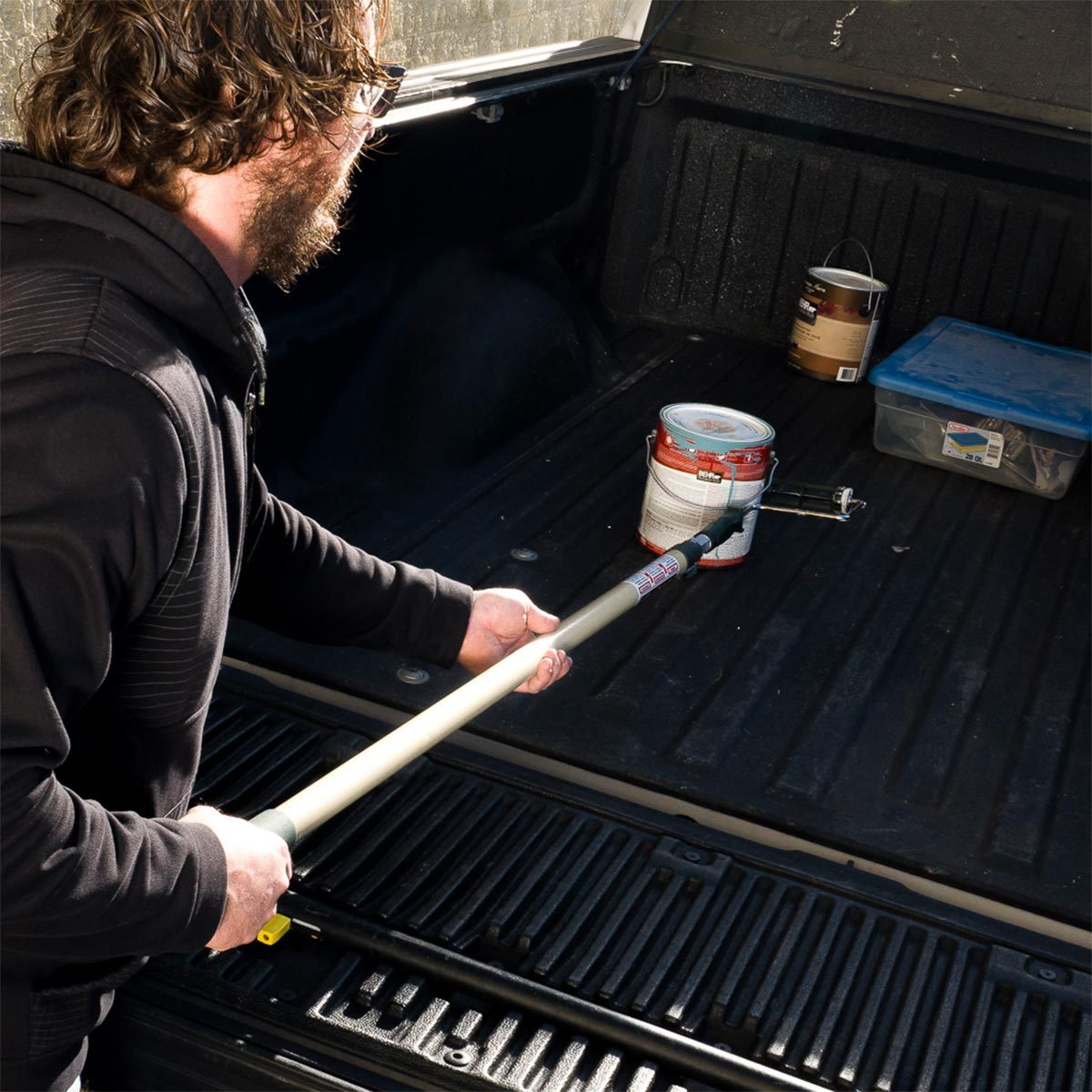 truck bed reach stick