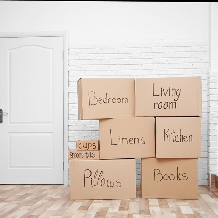 Moving boxes how to downsize your home