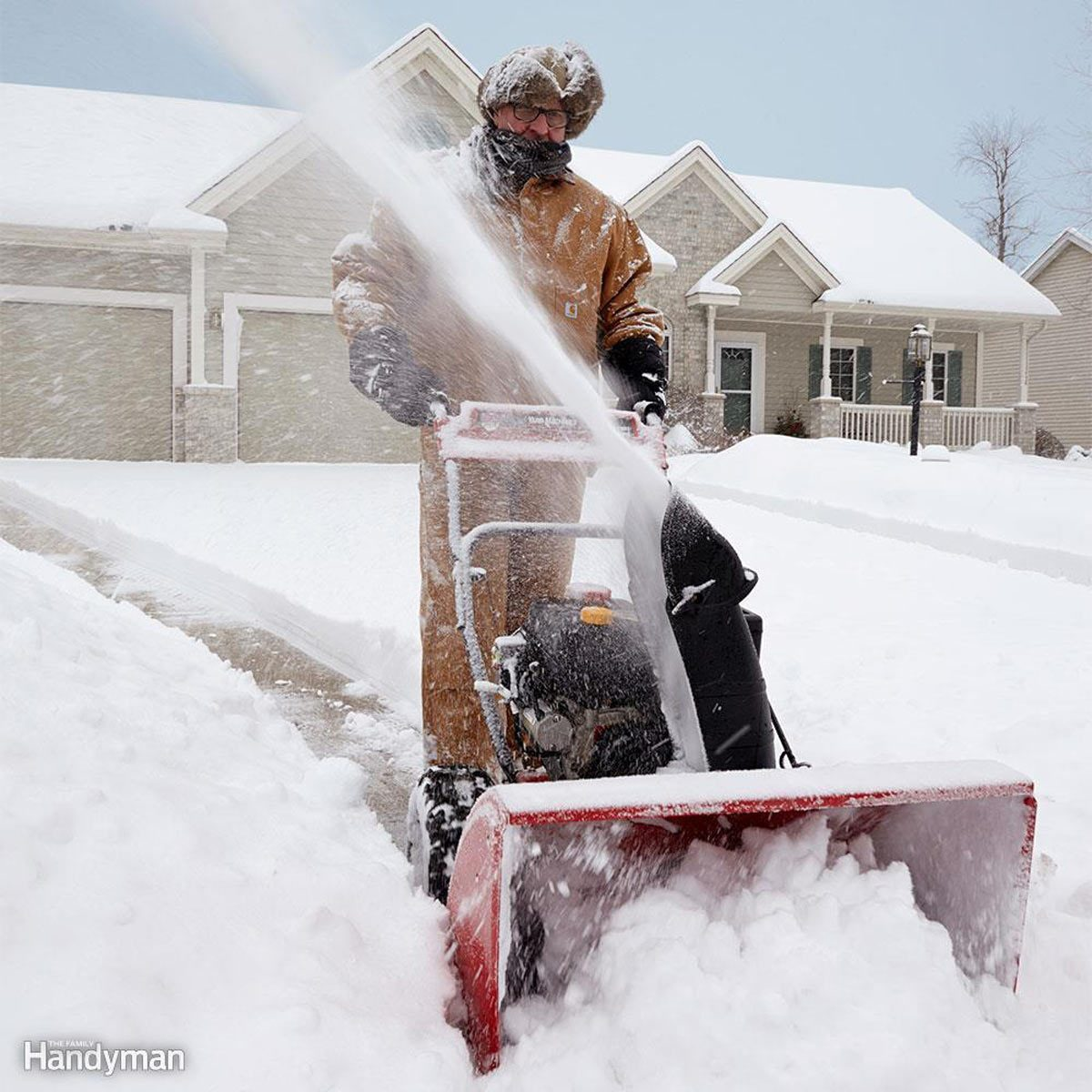 snow-blower winter