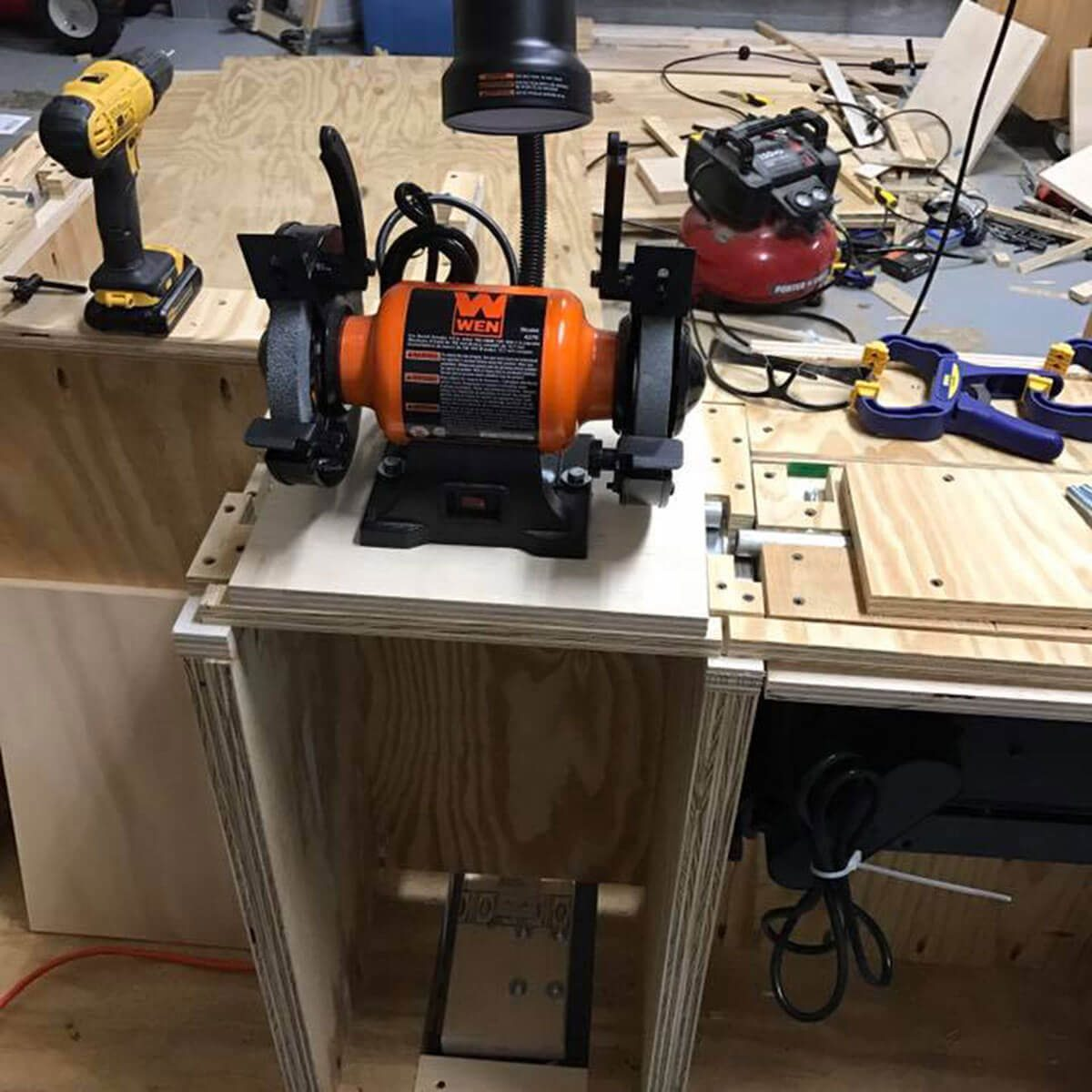 flip-top workbench