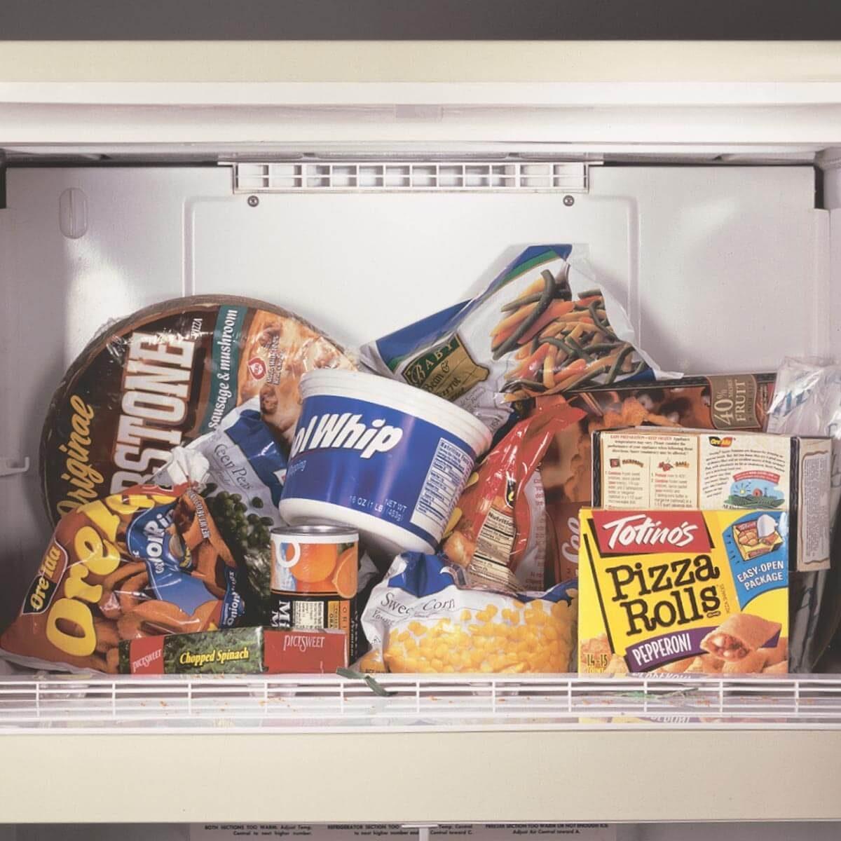 Old Freezer Items