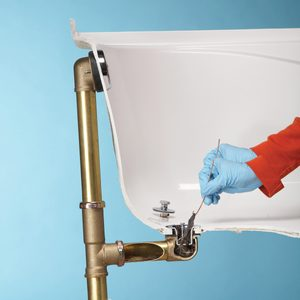 unclog bathroom shower drain