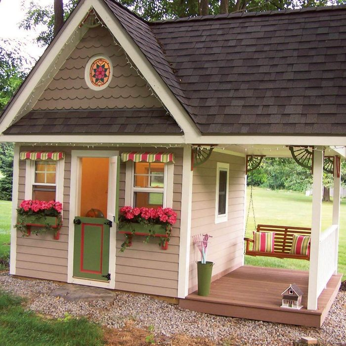 Playhouse That Grows with Kids