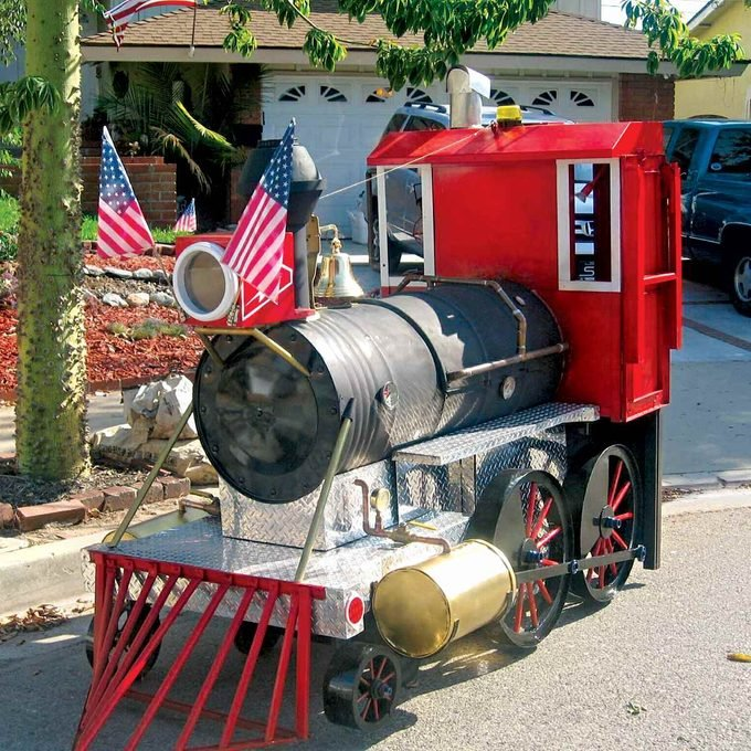barbecue and smoker locomotive