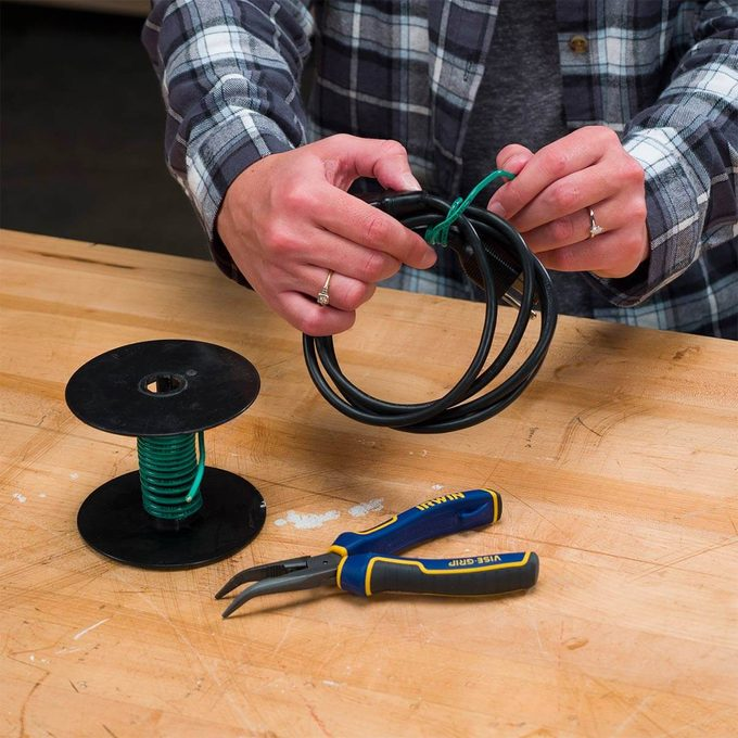 electrical wire to wrap extension cords
