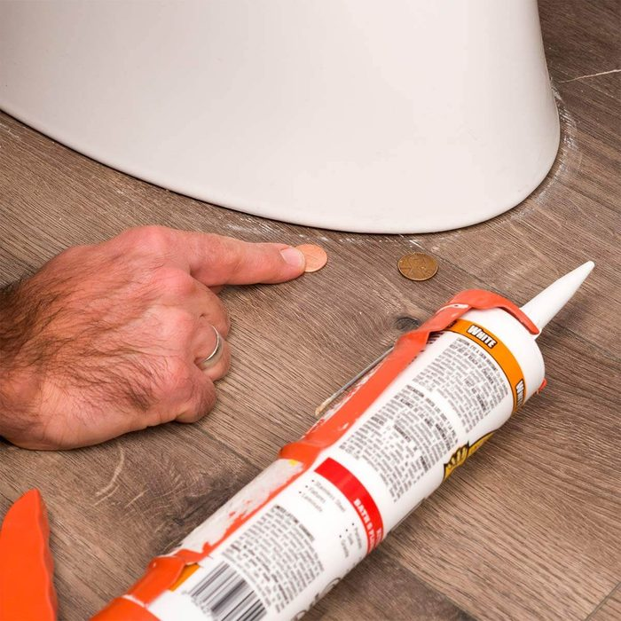Use Coins for Toilet Shims