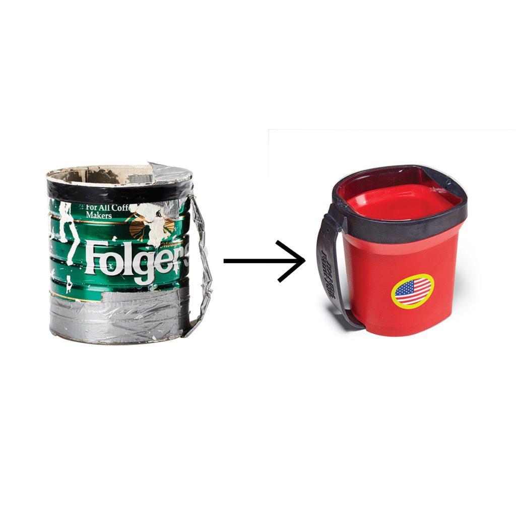 HANDy Paint pail:Success with a simple solution | Construction Pro Tips