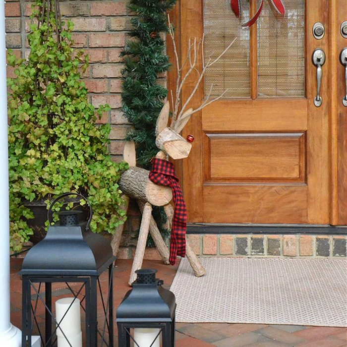 Rudolph Reigns Outside