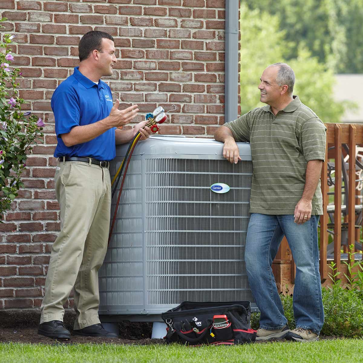 Sears-Dealer-Conversation air conditioner repair