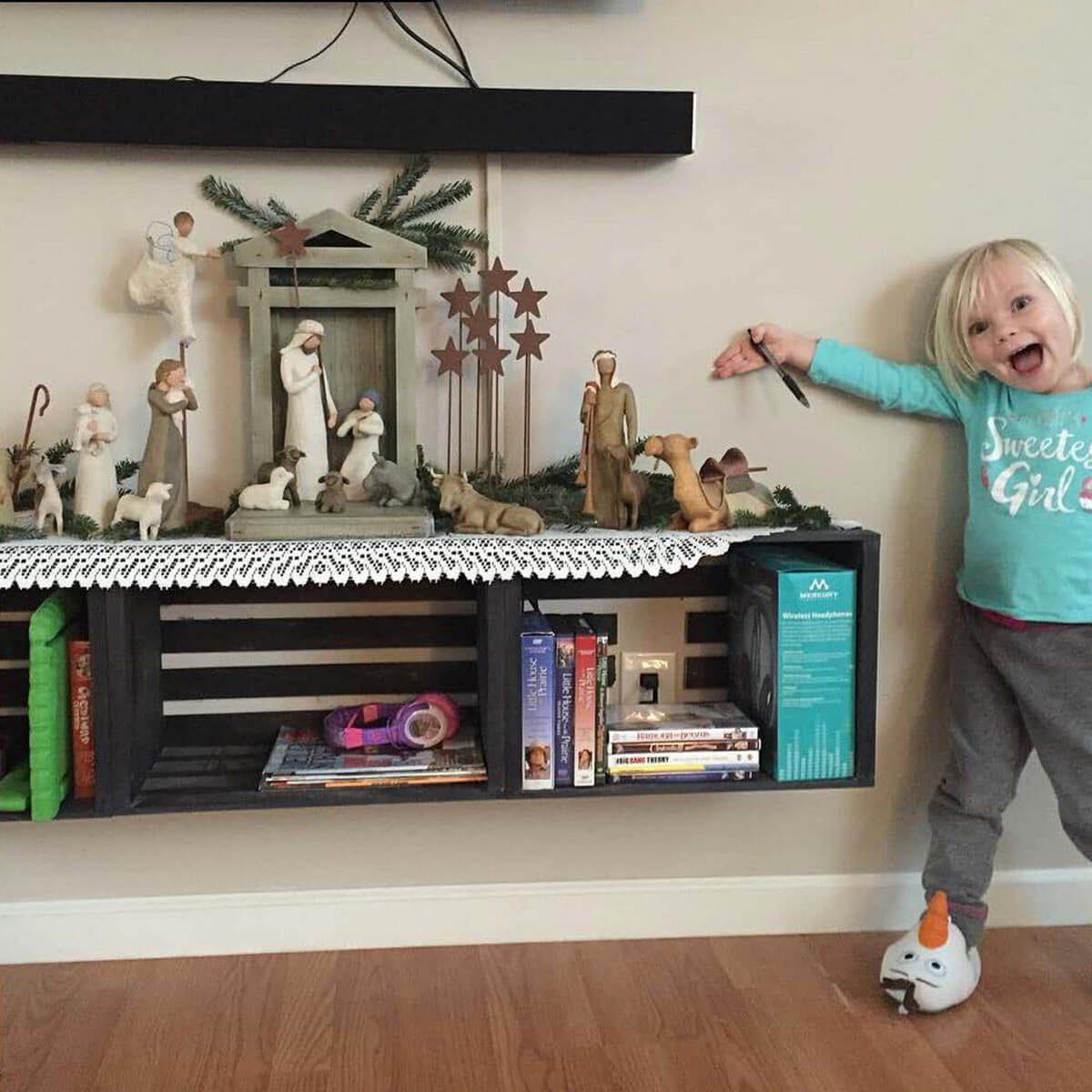 Nativity on a Shelf