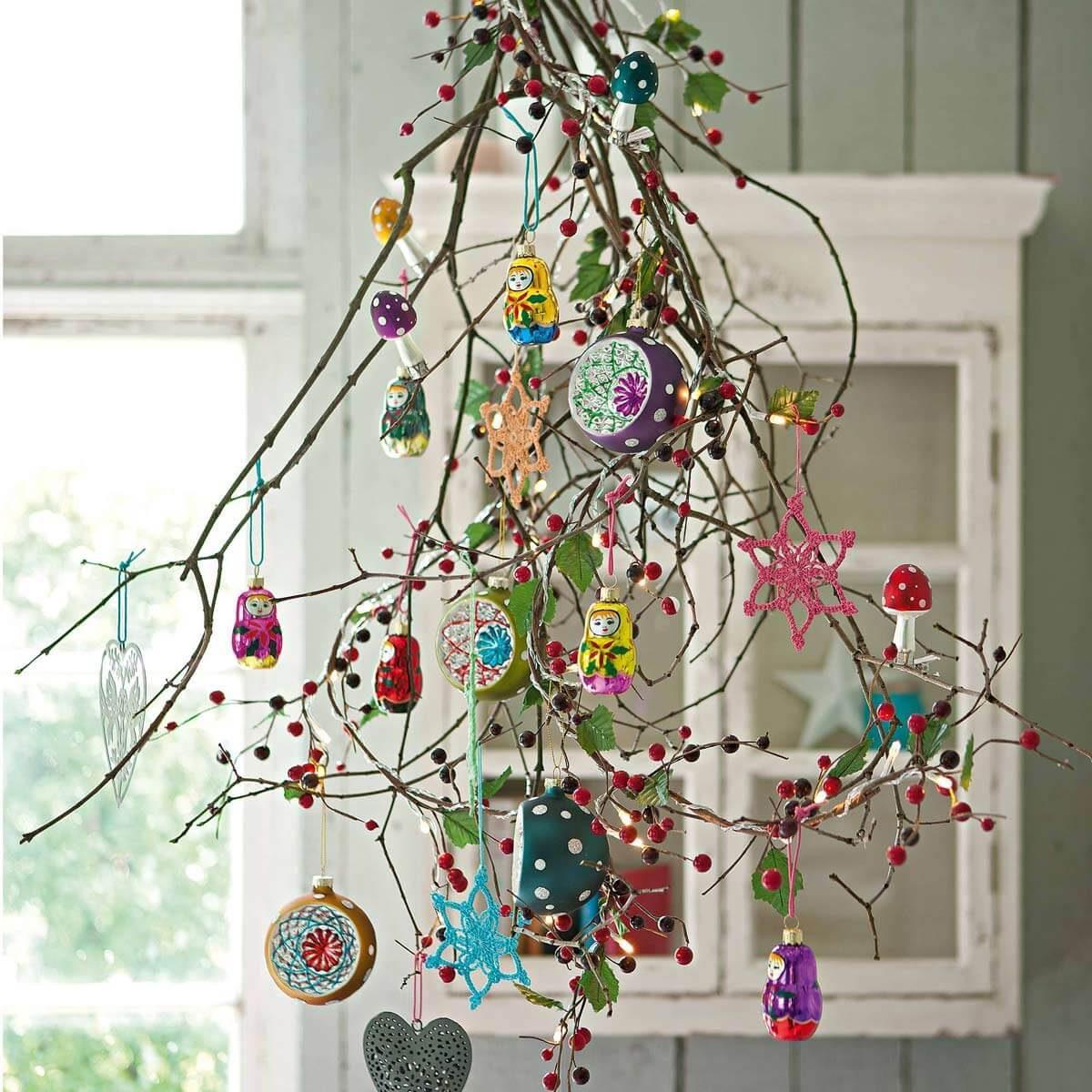 branch tree christmas